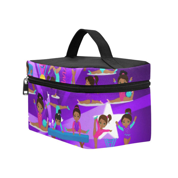Girls Purple Lunch bag -Lg