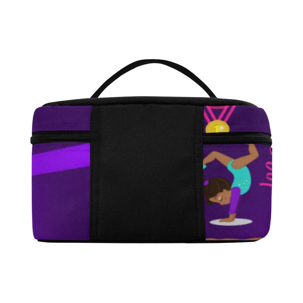 Girls Lunch box,  Lunchbox,Girls Personalized  Ballet Bag , Gymnastics Lunch bag, Cheerleader Lunch bag, Purple Lunch Bag