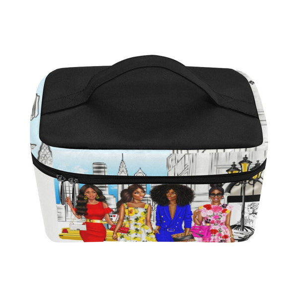 Makeup case,Lunch bag,Makeup bag, Train Case, Toiletry bag, Cosmetic bag, Personalized Makeup Bag,makeup organizer, travel makeup case