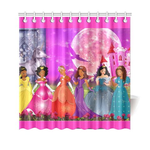 Princess  Shower Curtain