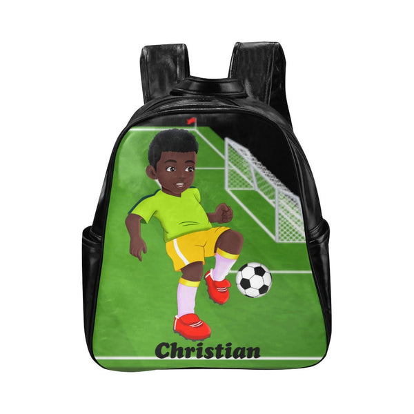Toddlers Backpack, Little Boys Backpack Personalized, Preschool backpack, African American Black Brown Boy backpack, back to school Supplies