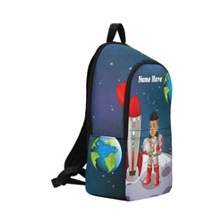 Astronaut Personalized Boys Backpack (Large)