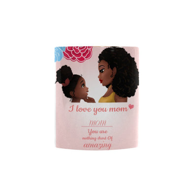 African American Mother Daughter Coffee Mug