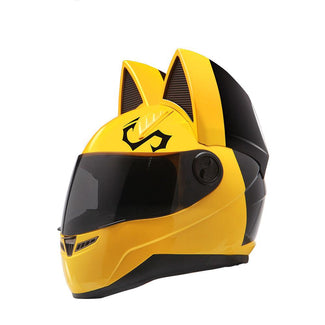 Cat Ear Vent Motorcycle Helmet