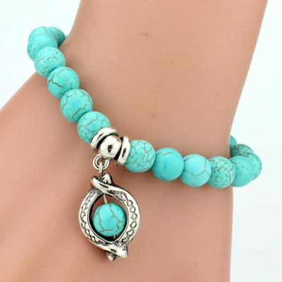 Turquoise Charm Bacelet - Giftolution