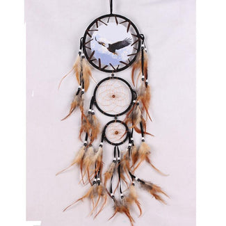 Animal Dreamcatcher with Feathers