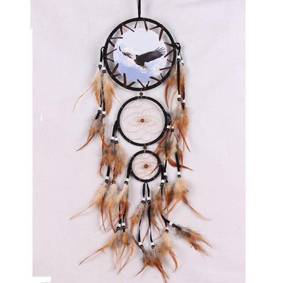 Animal Dreamcatcher with Feathers - Giftolution