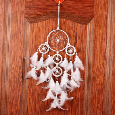 Big White Feather Dreamcatcher - Giftolution
