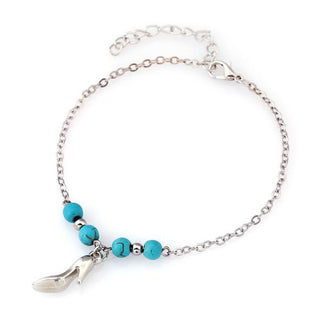 Turquoise Charm Anklets