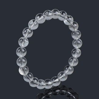 Clear Crystal Natural Stone Bracelet