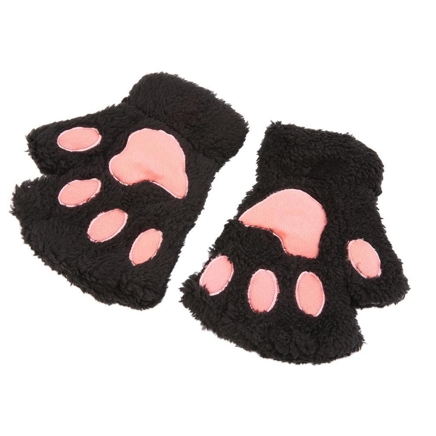 Cat Paw Fingerless Gloves - Giftolution