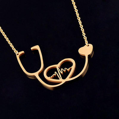 Stethoscope Heartbeat Necklace - Giftolution