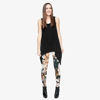 Full Print Cat Leggings