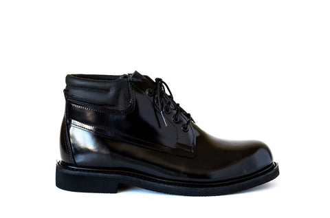 police general duty shoes leather vibram steel toe