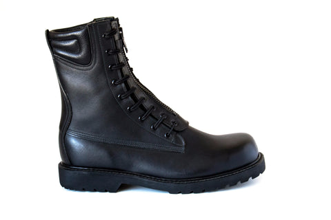 waterproof general duty shoes leather vibram steel toe