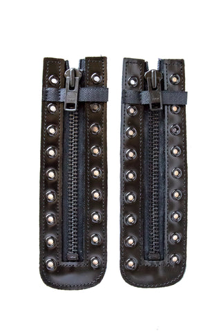 leather zipper ykk