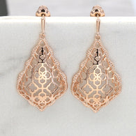 Filigree Drop Earrings #E005