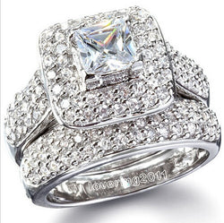 2pc Bridal Ring Set #326