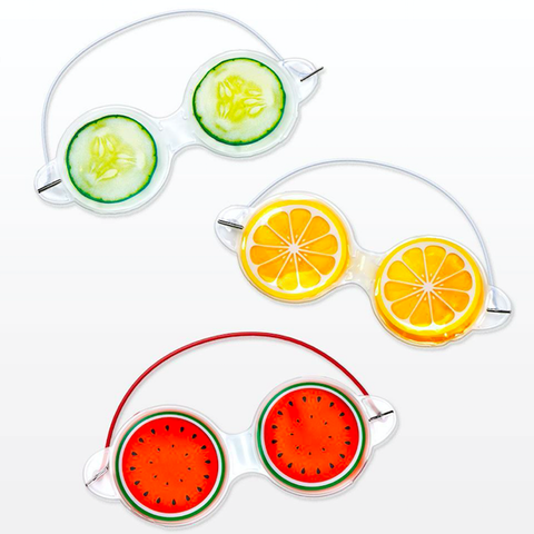 Fruit Masks Collection, fruit lovers, cucumber, orange, watermelon lovers