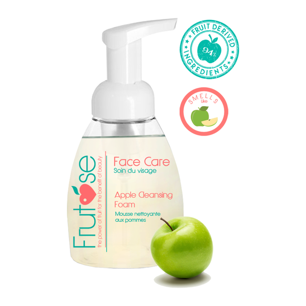 Face Care Apple Cleansing Foam, 250 mL, 1 unit, fruit lovers, apple lovers