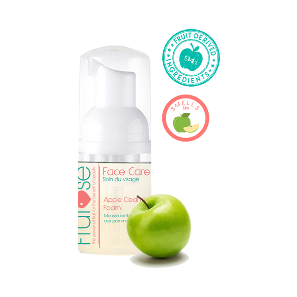 Face Care Apple Cleansing Foam, 30 mL, 1 unit, fruit lovers, apple lovers