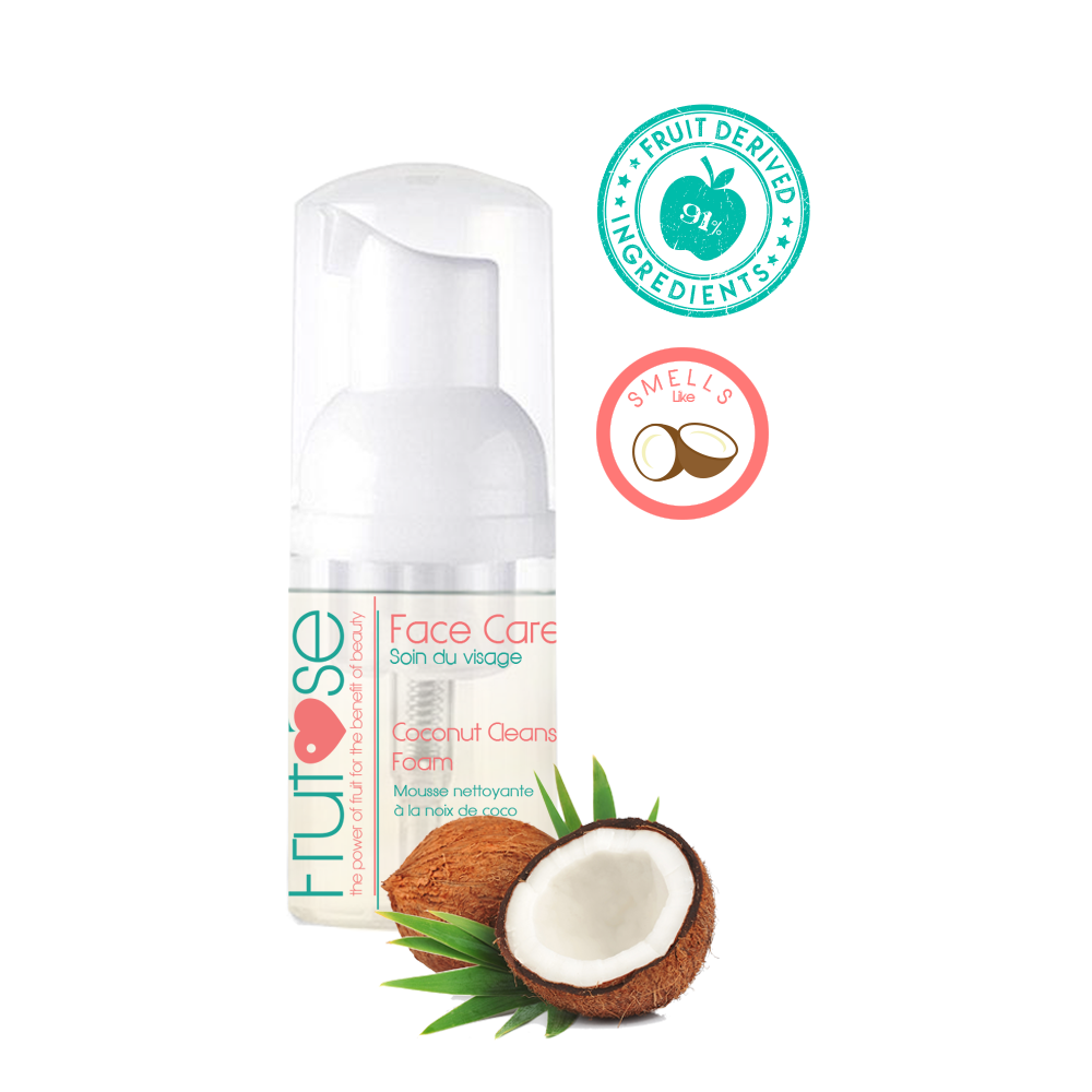 Face Care Coconut Cleansing Foam, 30 mL, 1 unit, fruit lovers, coconut lovers
