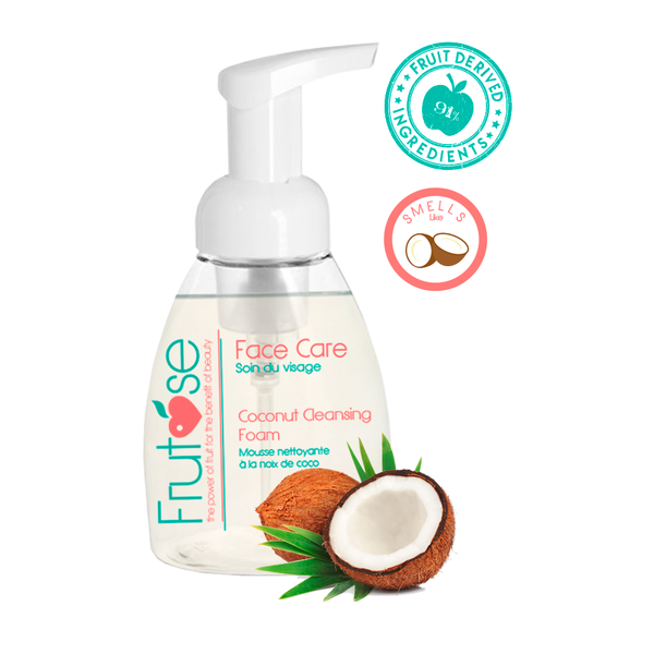 Face Care Coconut Cleansing Foam, 250 mL, 1 unit, fruit lovers, coconut lovers