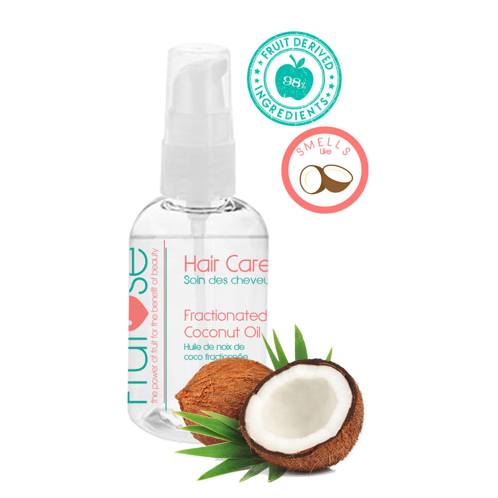 Hair Care Fractionated Coconut Oil, 60 mL, 1 unit, fruit lovers, coconut lovers