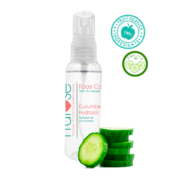 Face Care Cucumber Hydrosol, 60 mL, 1 unit, fruit lovers, cucumber lovers