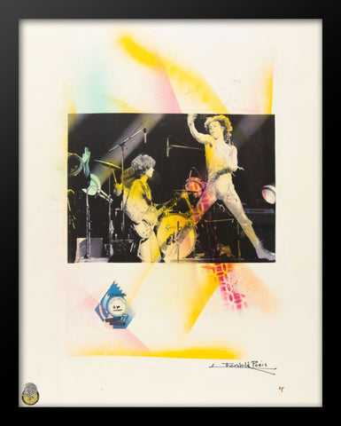 Rolling Stones Print Poster by Fairchild Paris