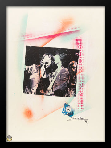 Rolling Stones Rare Hard Rock Hotel VIP Edition Poster by Fairchild Paris