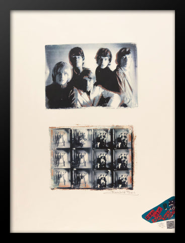 Rolling Stones Poster by Fairchild Paris
