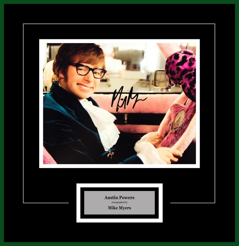 Austin Powers - Signed Mike Meyers - Framed Artist Series