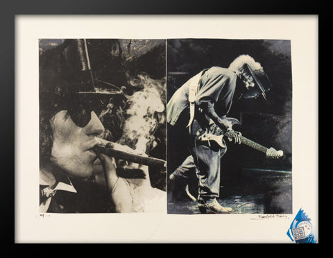 Rolling Stone's Keith Richards Poster by Fairchild Paris