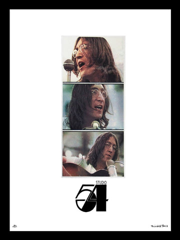 Studio 54 John Lennon Advertising Poster by Fairchild Paris