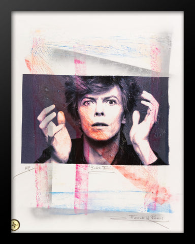 David Bowie Artist Proof Poster by Fairchild Paris