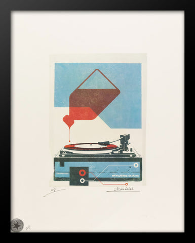 Vintage Pearl Jam Advertising Print by Fairchild Paris