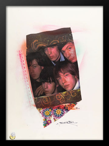 Rolling Stones Framed Print by Fairchild Paris