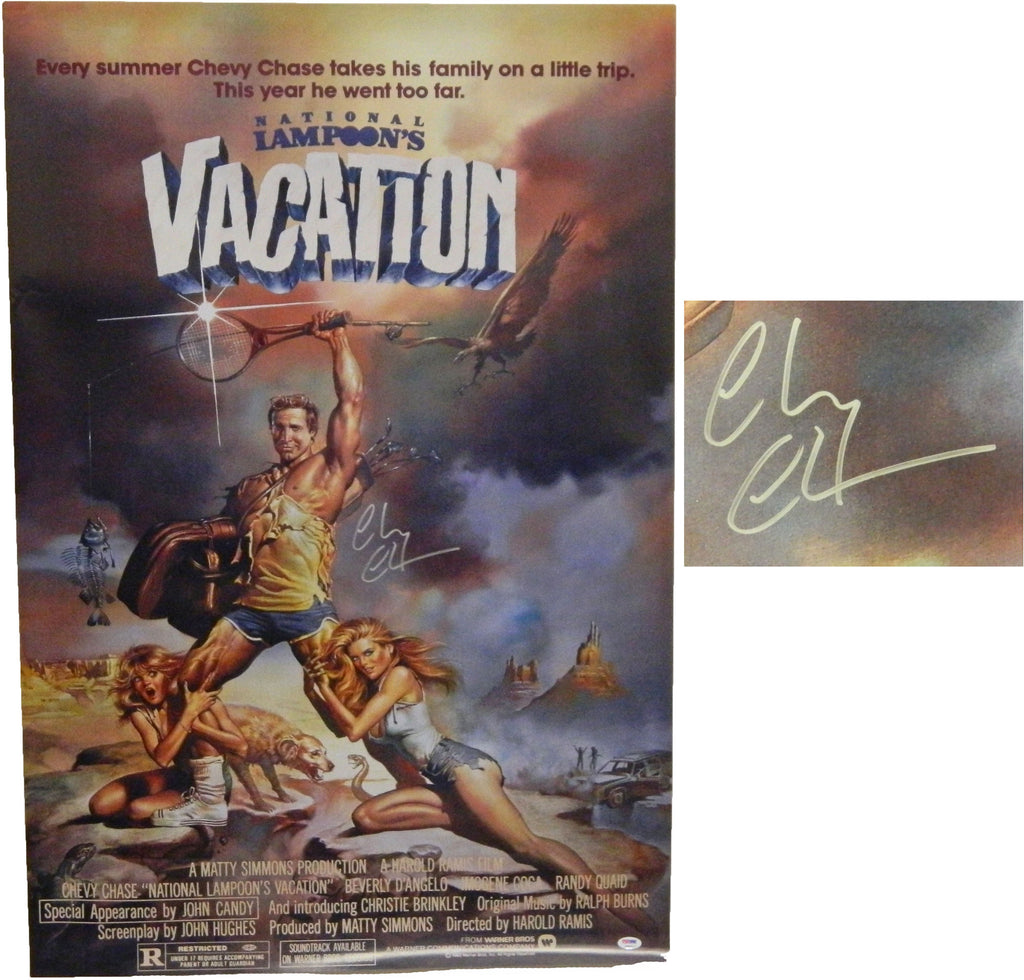 National Lampoons Vacation signed poster - LuxeWest