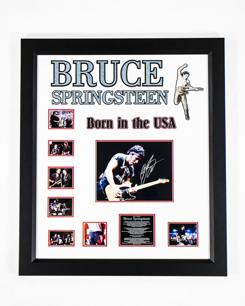 Bruce Springsteen - Born in the USA Signed Collage - LuxeWest