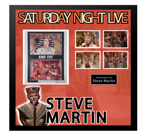 Steve Martin Saturday Night Live - Framed Autographed Collage