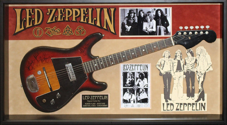 Led Zeppelin Signed Electric Guitar