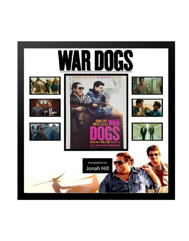 War Dogs - Framed Autographed Collage