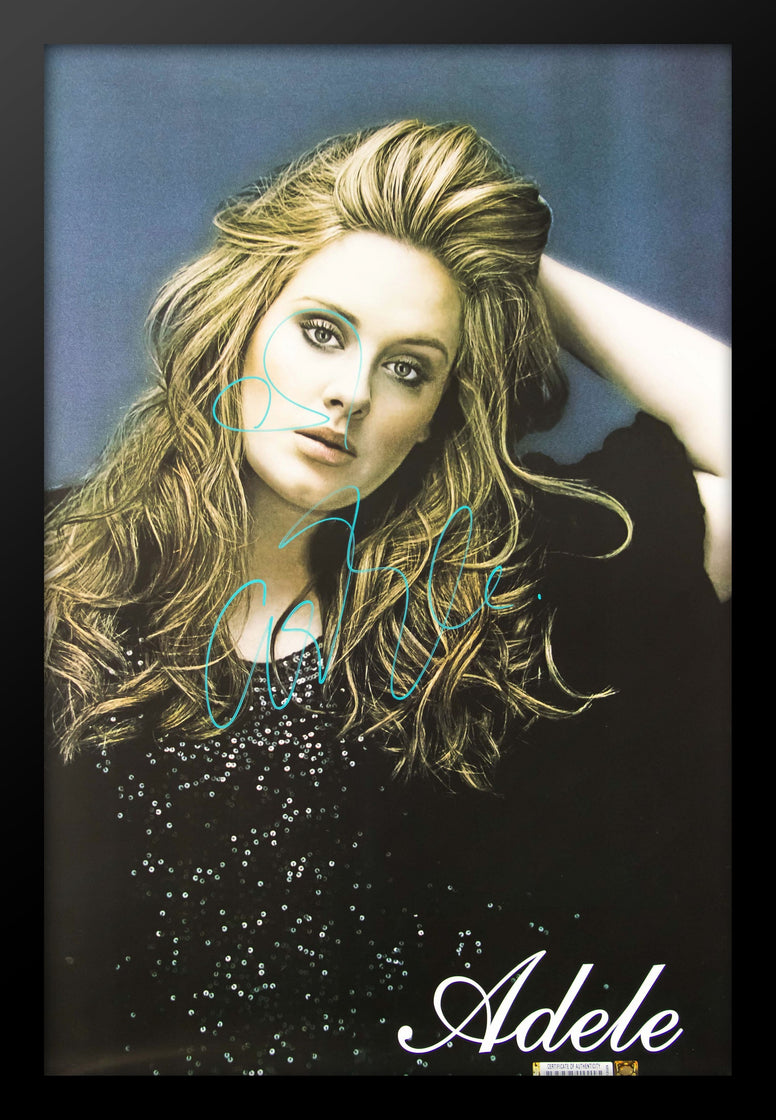 Adele Signed Poster