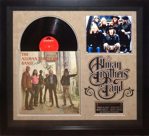 Allman Brothers Band - Signed Debut Album