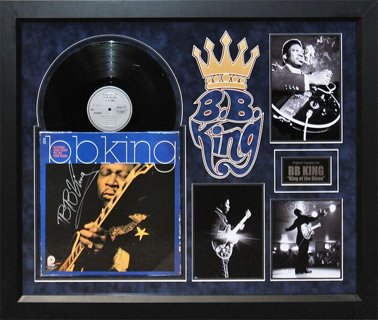 BB KING - Signed Album