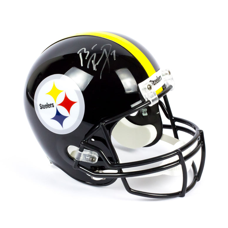 Ben Roethlisberger Pittsburgh Steelers Autographed Full Size NFL Helmet