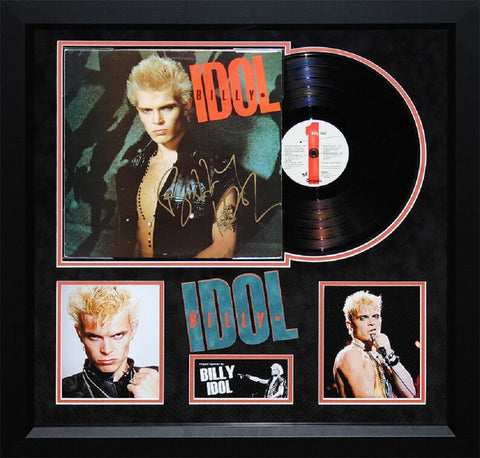 Billy Idol - Rebel Yell - Signed Album