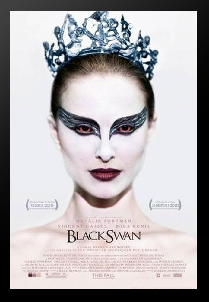 Black Swan Signed Movie Poster Front Row Memorabilia