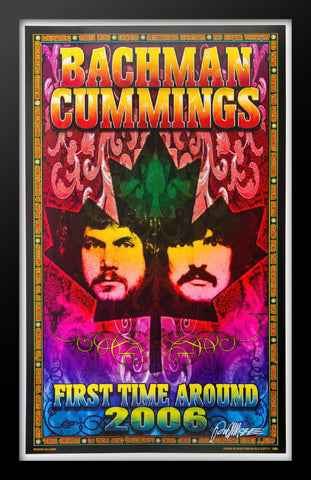 Bachman Cummings  Framed Concert Poster by Bob Masse